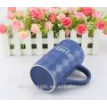 2015 neue Design Großhandel Benutzerdefinierte LOGO glasierte Kaffee Keramik Becher