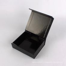 Boîte de pliage de papier de carton de luxe fait sur commande de fermeture de logo d'aimant