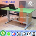 metal furniture leg height adjustable computer desk laptop desk roulette table