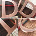 Large Metal Letters for Outside Bronze Letters