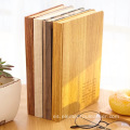 Noterbook Papel de grano de madera impermeable decorativo