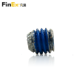 Stainless Steel Hex Socket Knurled Cup Point Set Screw