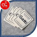 Factory Price Canvas Brand Logo Printing Label for Clothing Label