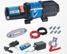 4500 ポンド ATV/UTV ウィンチと合成繊維ロープ