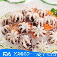 Замороженные морепродукты замороженные осьминог iqf (цветок форма чистой)