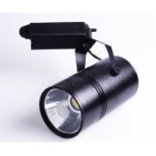 TUV CE COB Led Track Light 20W, Black Matte or White Matte
