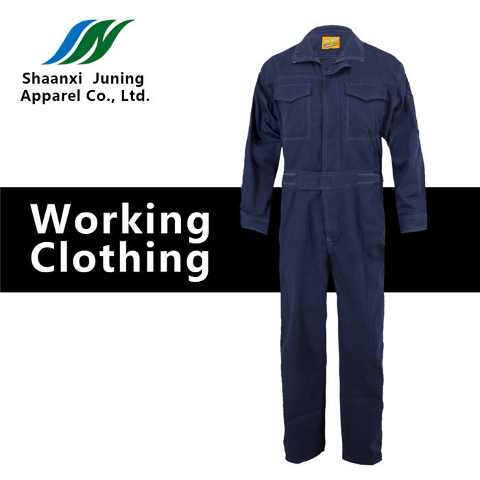Navy Blue Cotton Coveralls