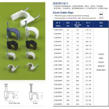 Círculo de clips de cable