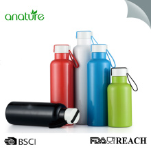 ODM for China Insulated Water Bottle,Insulated Stainless Steel Bottle,Stainless Steel Water Bottle Manufacturer Stainless Steel Sports Water Bottle With Lid 16oz supply to China Macau Exporter