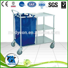 BDT209 hot sales medical trolley for dirty clothes