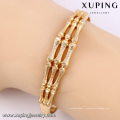 51504 Xuping Femmes élégant bracelet en alliage de forme d'os pour les filles