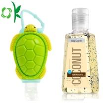 Titulaire de caisse de désinfectant de bouteille cosmétique de parfum de main d'abeille