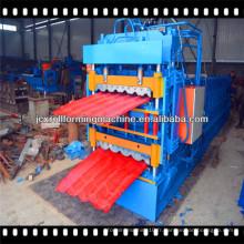 Machine de formage de rouleaux de panneau de toit à double couche de 0,25 à 0,8 mm d'épaisseur