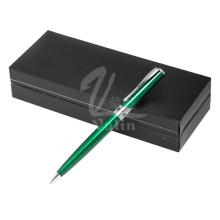 Venta al por mayor de pluma de metal pluma personalizada de Metal Logotipo con caja de regalo