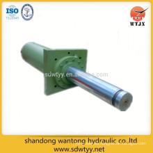 Cilindro hidráulico con brida delantera