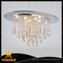 Neue Wohn-Kronleuchter Bernstein Kristalllicht (9230-8B)