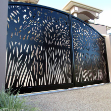 Laser Cut Gate Panels