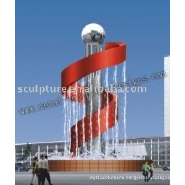 Musical Fountain Sculpture,garden fountain,modern sculpture fountain