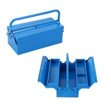 Boîte à outils manuelle pliable à 2 couches
