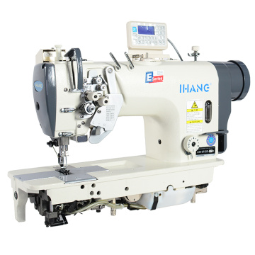 High Quality Double Needle Lockstitch Sewing Machine
