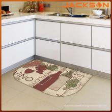2015 Maschinengetuftete waschbare Küchen-Teppich-Wolldecke