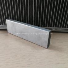 Tubo de aluminio para enfriador de aire de carga
