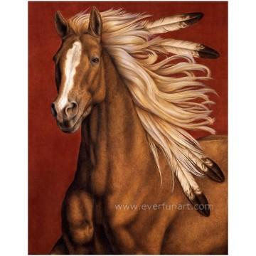 Живопись маслом лошадей