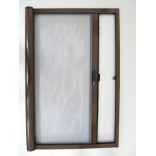 Aluminum Alloy Roller Screen Door with Mosquito Net