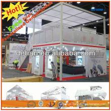 Sistema modular de design de cabine de exposição de moldura de alumínio