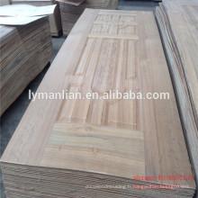 Panneau de porte en bois sculpté