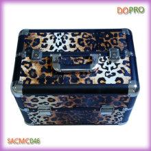 Hot Leopard Printing PVC Hard Beauty Train Case (SACMC046)