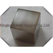 Imán de bloque de neodimio N38 para Motor y separador de