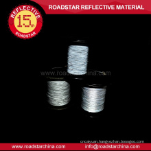 Clothing material safe 100% PE reflective yarn