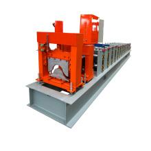 Xinnuo-Metallhaus-Dachfirst-Kappen-Presse-Rolle, die Maschine für Verkauf bildet
