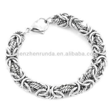 Großhandel Armband Schmuck Edelstahl komplizierte byzantinischen Armband Vners Hersteller Importeur