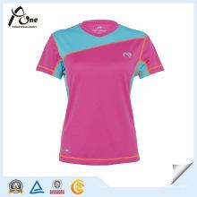 Woman Blank Quick Dry T Shirt Custom T-Shirt