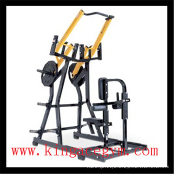 Equipamento de fitness ginásio comercial ISO-Lateral frontal Lat Pulldown