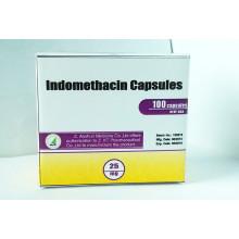 Cápsulas de indometacina de grado de medicina