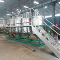 Máquina de refinação de óleo de palma em bruto de aço inoxidável 2t