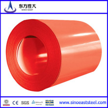 Bobinas de acero galvanizado con recubrimiento de color (PPGI / PPGL)