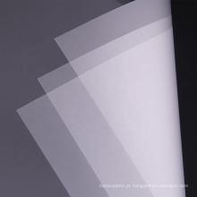 Película de policarbonato transparente de 0,5 mm filme de plástico fino flexível