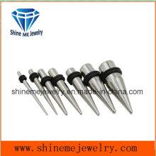 Taper 316L de aço inoxidável para fecho de ouvido (SPG1838)