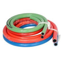 PVC Fiber Braided Twin Welding Gas Hose