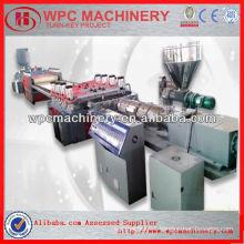 wood plastic machine/PVC foam board machinery