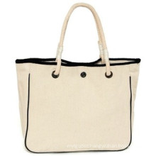 Canvas Cotton Tote Bag with String Handle for Women
