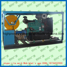 Diesel Drain Pipe Washer High Pressure Water Jet Sewer Cleaning Machine
