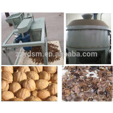 dry walnut cracker/ walnut shell separating machine/walnut cracking machine