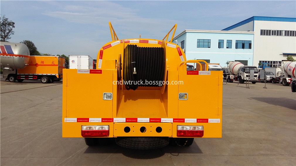 high pressure water truck 6
