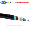Cable trenzado de fibra óptica blindado para tubo abierto GYTY53