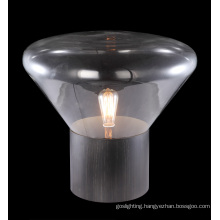 Clear Glass Table Lamp Modern (MT4008B)